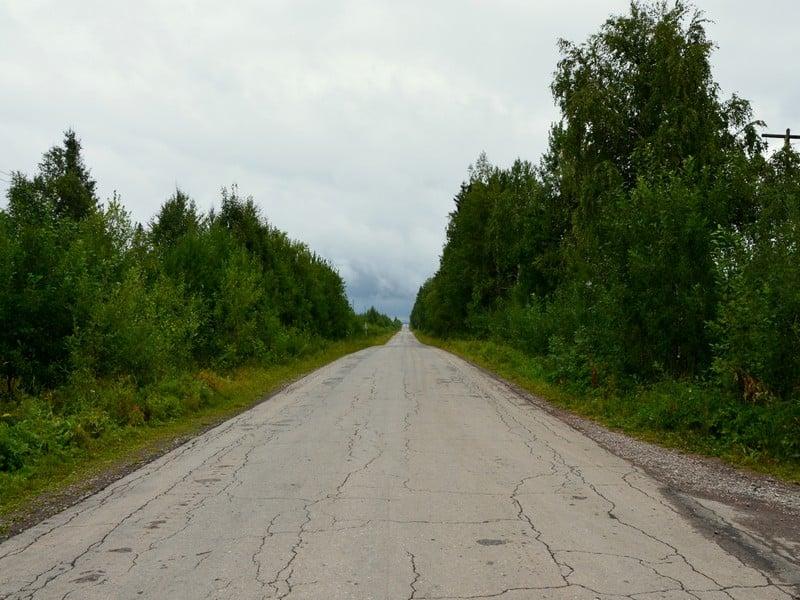Дорога в Каменный город / Фото из России