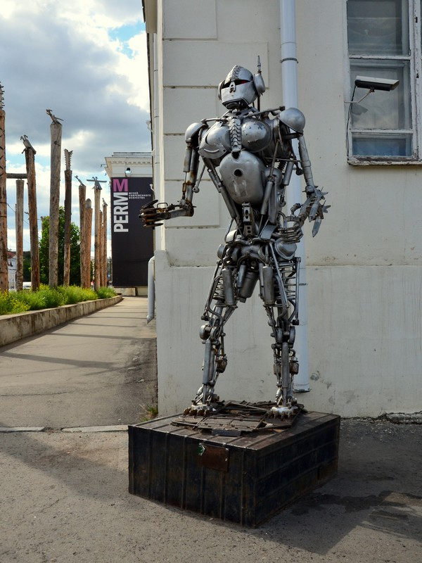 Современная скульптура в Перми / Фото из России
