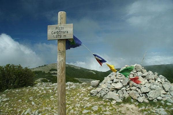 Вершина Карбонара / Фото из Италии