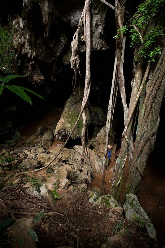 В пещере на Кубе / Фото с Кубы