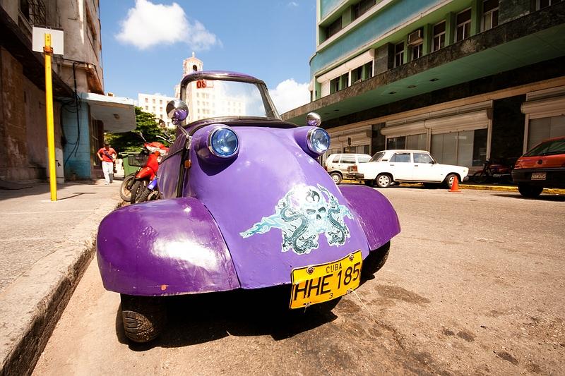 Автомобиль в Гаване / Фото с Кубы