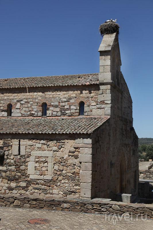 Вестготская церковь V века в Иданья-а-Велья / Фото из Португалии