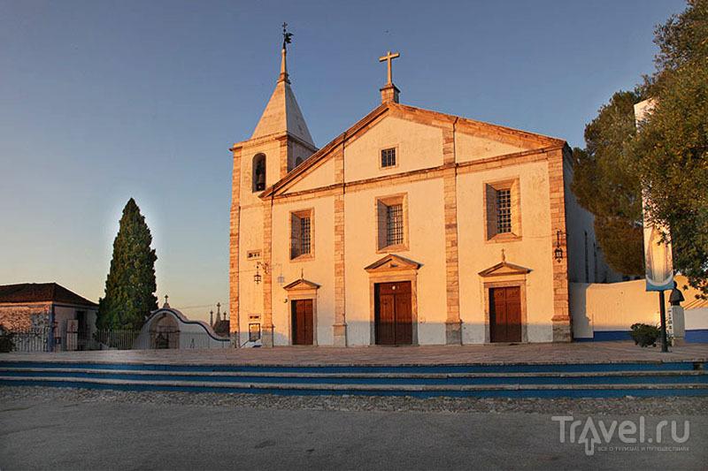Церковь в крепости Вила-Висозы / Фото из Португалии
