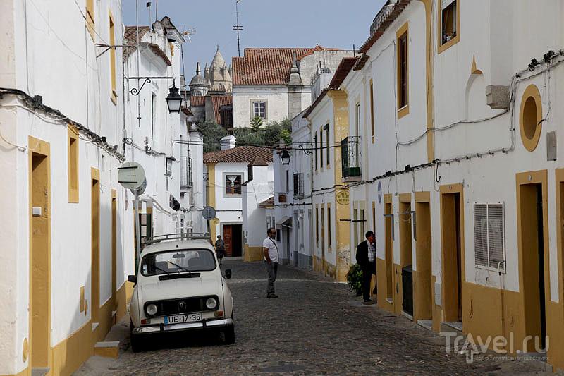 Старый город Эворы - наследие ЮНЕСКО / Фото из Португалии