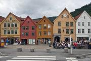 в уличных кафе / Норвегия