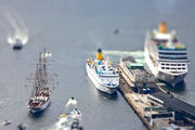 суда в гавани / Норвегия
