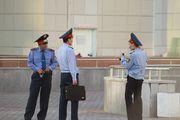 больше полицейских / Казахстан