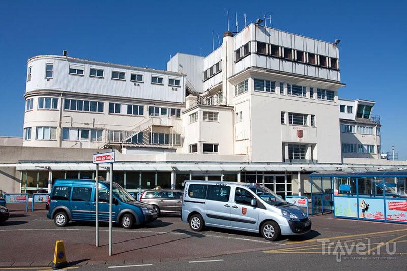 Аэропорт на острове Джерси / Фото из Великобритании
