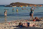 на пляже / Кипр
