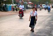 пионерка / Лаос