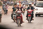 мотоциклисты / Лаос