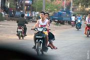 девушка / Лаос