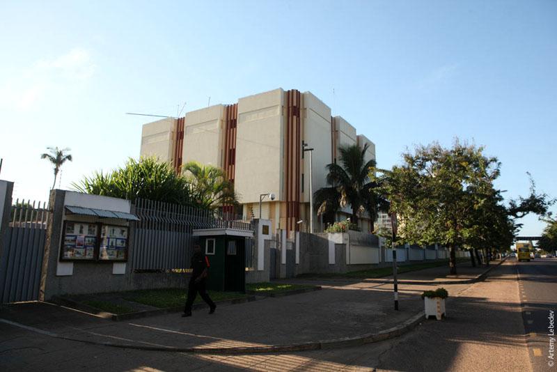 Здание российского посольства в Мапуту, Мозамбик / Фото из Мозамбика