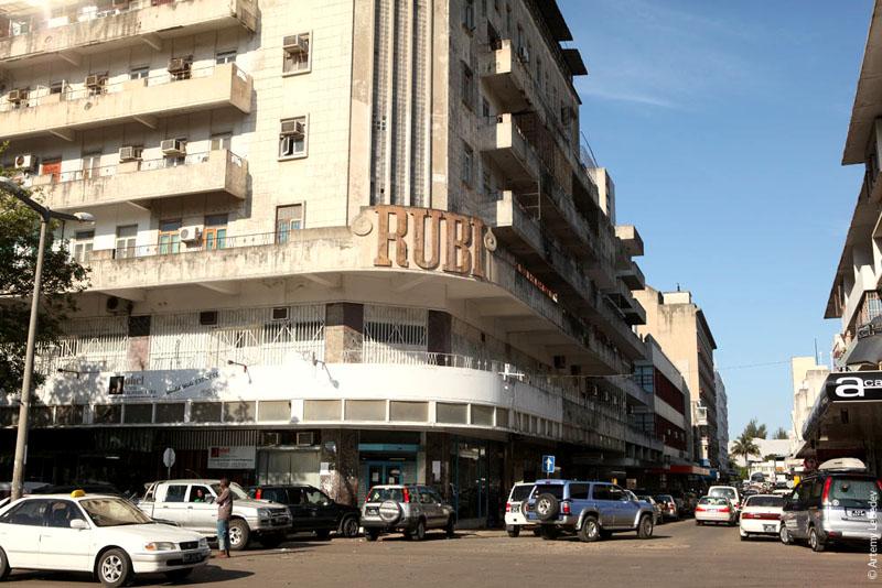 Улица в Мапуту, Мозамбик / Фото из Мозамбика