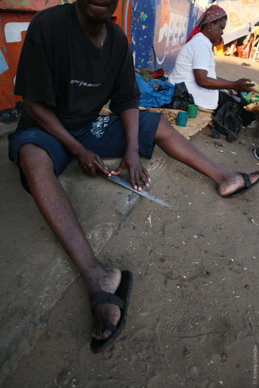 На рыбном базаре в Мапуту, Мозамбик / Фото из Мозамбика