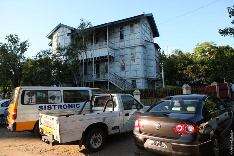 Дом Эйфеля в Мапуту, Мозамбик / Фото из Мозамбика