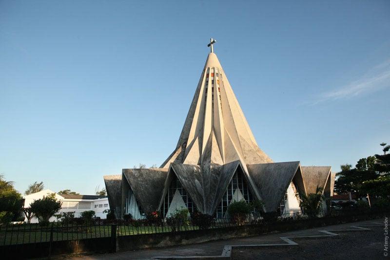 Церковь в Мапуту, Мозамбик / Фото из Мозамбика