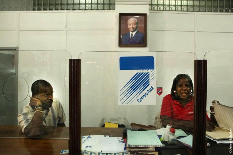 Почта в Мапуту, Мозамбик / Фото из Мозамбика