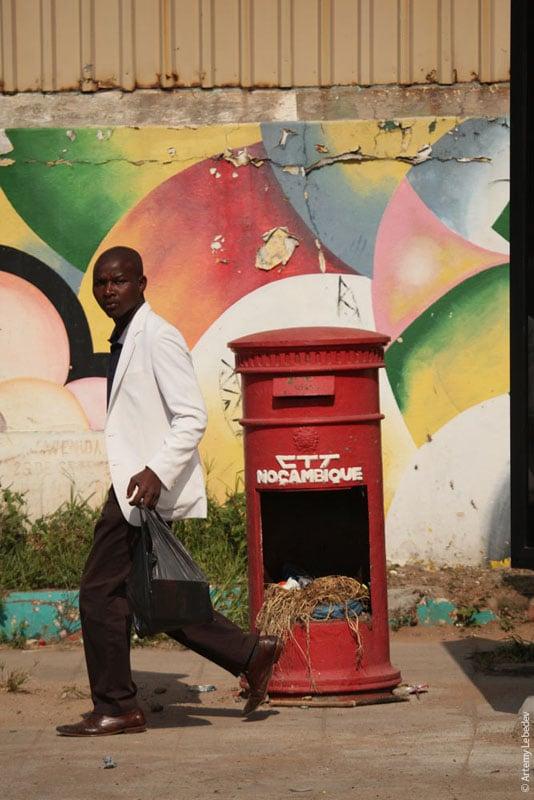 Почтовый ящик в Мапуту, Мозамбик / Фото из Мозамбика
