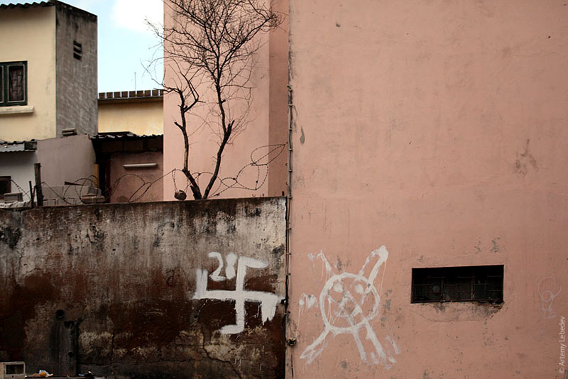 На улице Мапуту, Мозамбик / Фото из Мозамбика