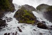 водопад Латефоссен / Норвегия
