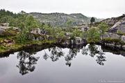 у живописного озера / Норвегия