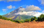 Дорога к вулкану / Филиппины