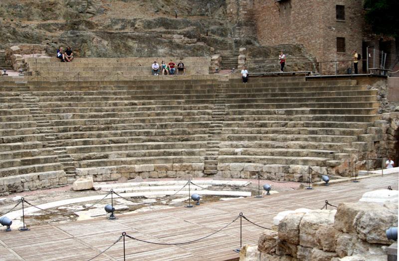 Древний римский театр в Малаге / Фото из Испании