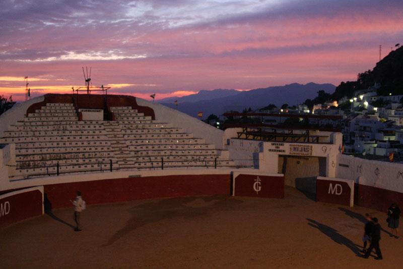 Арена для корриды в Михасе, Испания / Фото из Испании