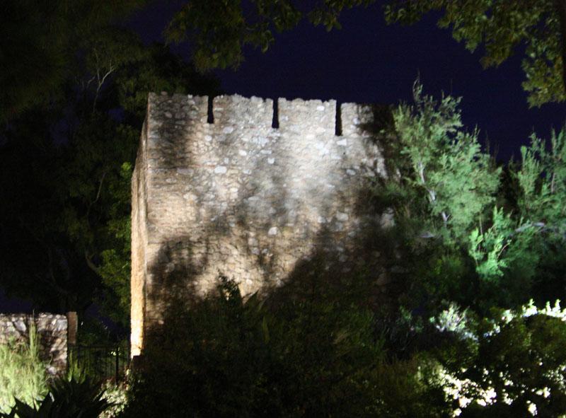 Арабская крепость в Михасе, Испания / Фото из Испании