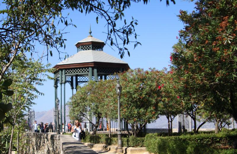 Парк в Ронде, Испания / Фото из Испании