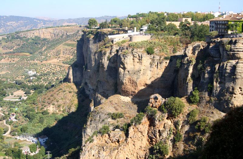 Вид на Ронду, Испания / Фото из Испании