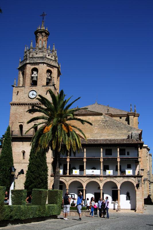 Собор в Ронде, Испания / Фото из Испании