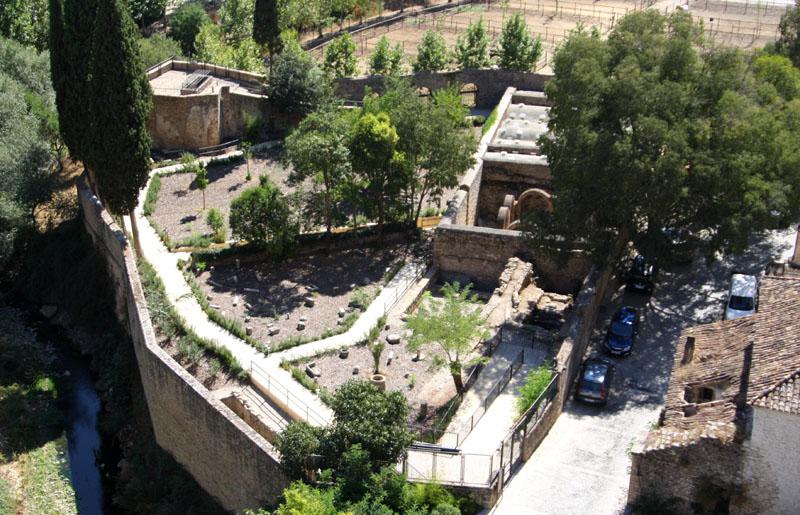 Арабские бани в Ронде, Испания / Фото из Испании