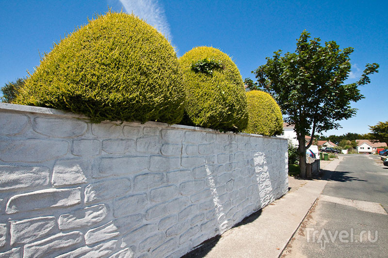 Улица на острове Олдерни / Фото из Великобритании