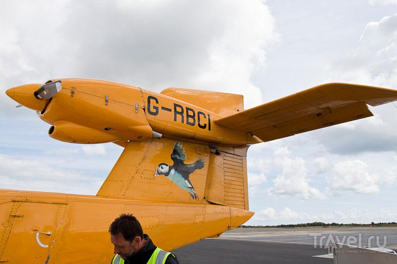 Хвост самолета G-RBCI / Фото из Великобритании