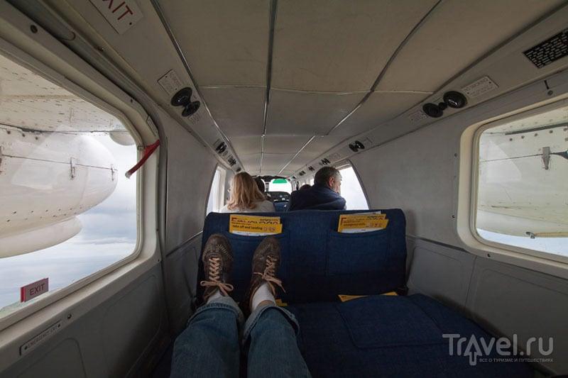В салоне самолета G-RBCI / Фото из Великобритании