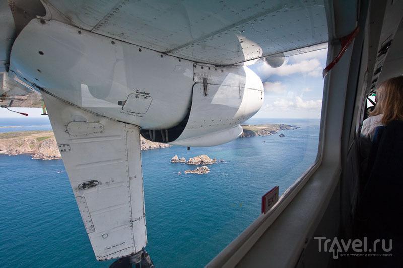 Вид на остров Олдерни с воздуха / Фото из Великобритании