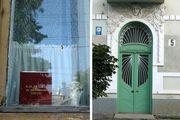 Улочки Черновцов: окна и двери / Украина