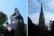 Улочки Черновцов: соборы и небо / Украина