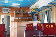 Вагон-ресторан кишиневско-одесского поезда / Молдавия