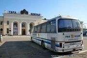 Железнодорожный вокзал Тирасполя / Молдавия