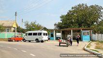 Место отправления маршруток на Страшены и Каприяну / Молдавия