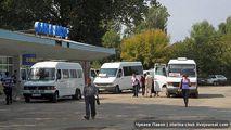 Автостанция в Страшенах на кишиневской трассе / Молдавия