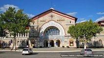 Железнодорожный вокзал Кишинева / Молдавия