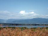 Облака над озером / Азербайджан