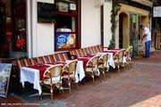 Столике на улице / Турция