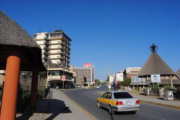 Улица в Масеру, Лесото / Фото из Лесото