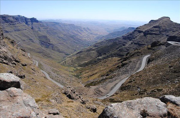 Перевал в горах Лесото / Фото из Лесото