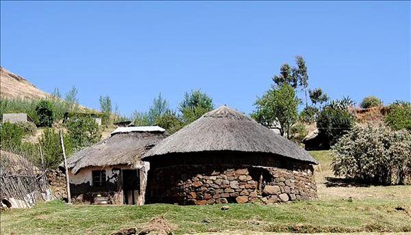 Дом в Лесото / Фото из Лесото